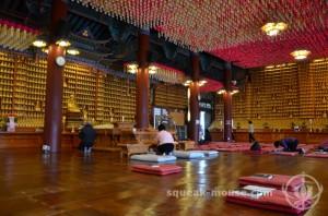 Inside Bongeunsa Temple, Seoul, South Korea