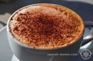 Cappuccino at Victoria Park Village, London, United Kingdom